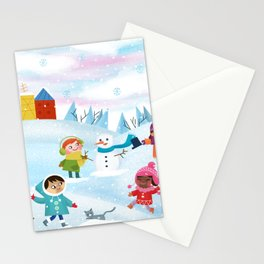 Children's gams Stationery Cards