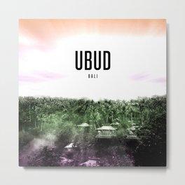 Ubud Wallpaper Metal Print