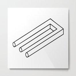 Optical Illusion #3 Metal Print