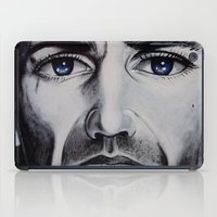 brave iPad Cases featuring BRAVE by John McGlynn
