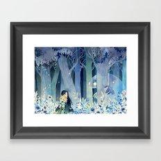 Get Lost Creep Framed Art Print