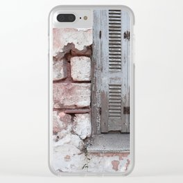 Walls and Windows Clear iPhone Case