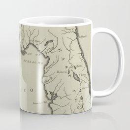 Vintage Map of Florida (1794) Coffee Mug