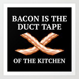 Duct Tape Of The Kitchen Art Print