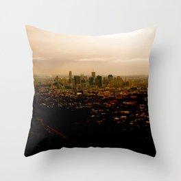 Little City Throw Pillow