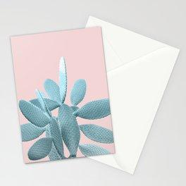 Blush Cactus #1 #plant #decor #art #society6 Stationery Cards