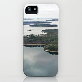 Late November archipelago iPhone Case