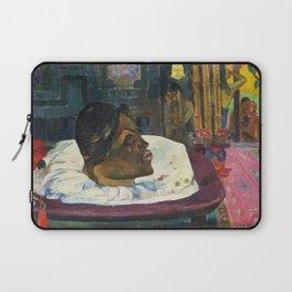 The Royal End (Arii Matamoe) (1892) by Paul Gauguin Laptop Sleeve