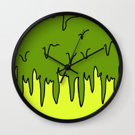 Simple Point Tree Wall Clock
