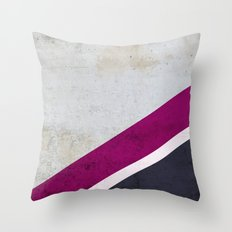 Concrete Shadows Throw Pillow