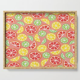 Vitamin C Super Boost - Citric Fruits on Peach Serving Tray