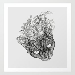 spirit of devonrex  Art Print