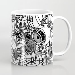 Dark Matter Space Machine Coffee Mug