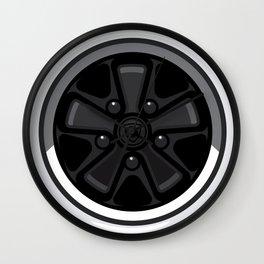 Wheel Design Retro Fuchs Felge Wall Clock