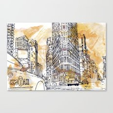 175 Fifth Avenue V2.  Canvas Print