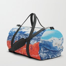 Pikes Peak Behind the Garden of the Gods Duffle Bag
