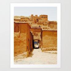 The Ancient City of Ait Benhaddou Art Print