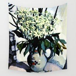 """Flannel Flowers"" by Australin Margaret Preston Wall Tapestry"
