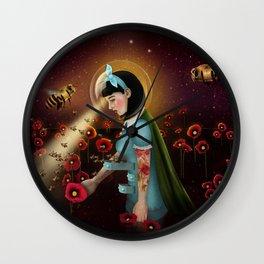 Oblivion: Anthophila I Wall Clock