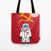 soviet Tote Bags featuring SOVIET by OSCAR GBP