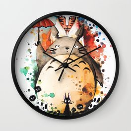 """The crossover n°2"" Wall Clock"