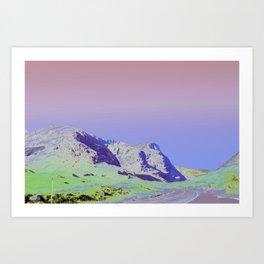 Chromascape 37 (highlands) Art Print