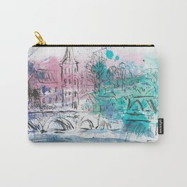 Spring in Dinant Carry-All Pouch