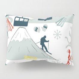 SKI LIFTS Pillow Sham