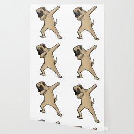 Funny Dabbing Bullmastiff Dog Dab Dance Wallpaper