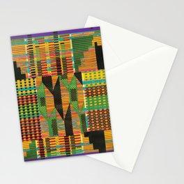 Kente Stripes Stationery Cards