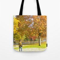 photographer Tote Bags featuring Photographer by VicSal