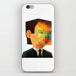 Pixel head iPhone Skin