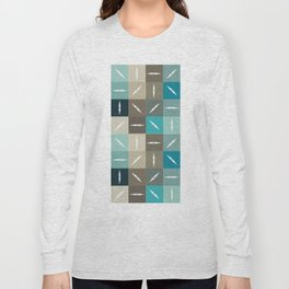 Mid-Century Pattern No. 92 Long Sleeve T-shirt
