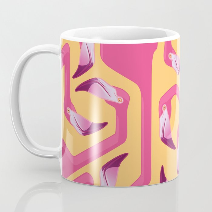 Flamingo Maze Coffee Mug