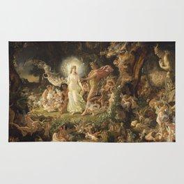 Sir Joseph Noel Paton - The Quarrel Of Oberon And Titania Rug