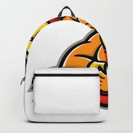 Trojan Warrior Baseball Player Mascot Backpack