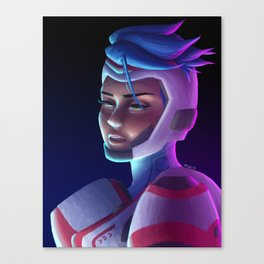 The Cyberian Canvas Print