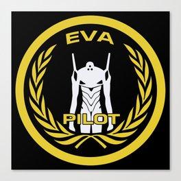 Evangelion Pilot Logo Canvas Print