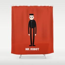 Mr. ROBOT Shower Curtain