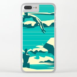 Diver01 Clear iPhone Case