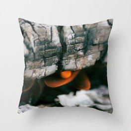 Burns Throw Pillow