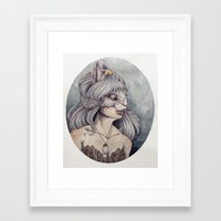 caitlin hackett Framed Art Prints featuring At What Cost by Caitlin Hackett