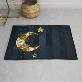 Mechanical Moon Rug