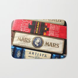 Art boxes Bath Mat