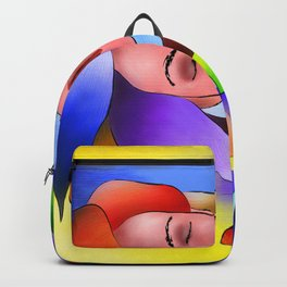 Fasettonia - colourful spirit Backpack