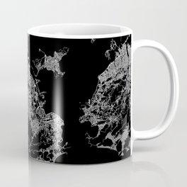 Rio map Brazil Coffee Mug