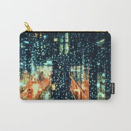 It's raining on the streets of New York City Carry-All Pouch