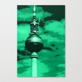 Pop Art Berlin Canvas Print
