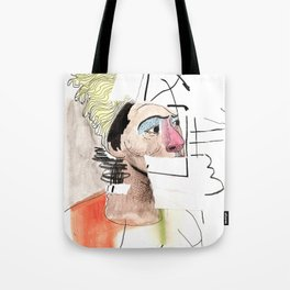Woman bust Tote Bag