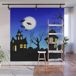 Blue Sky Of Nightmare Wall Mural